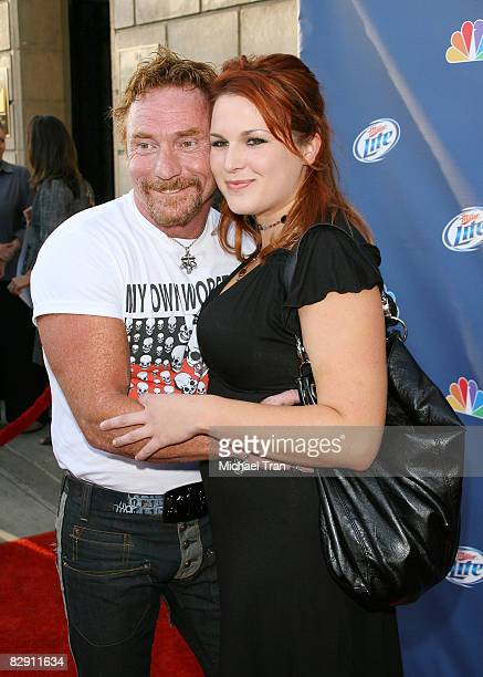 Actor Danny Bonaduce and Betty Bonaduce arrive to NBC's Fall Premiere Party held at Boulevard 3 on September 18 2008 in Hollywood California