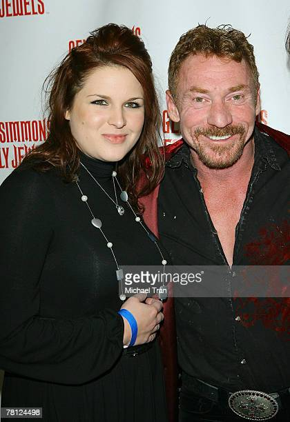 Actor Danny Bonaduce and Betty Bonaduce arrives at the Gene Simmons Roast held at the Key Club on November 27, 2007 in West Hollywood, California.