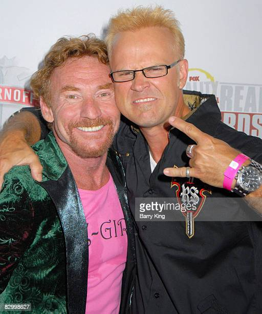 Actor Danny Bonaduce and George Gray arrive at the Fox Reality Channel's Really Awards held at Avalon Hollywood on September 24 2008 in Hollywood...
