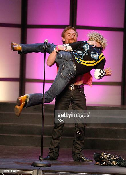 Actor Danny Bonaduce and TV personality Jonny Fairplay attend the FOX Reality Channel Really Awards on September 24 2008 at the Avalon Hollywood club...