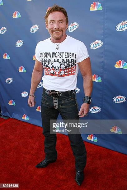 Actor Danny Bonaduce arrives to NBC's Fall Premiere Party held at Boulevard 3 on September 18 2008 in Hollywood California