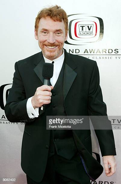 Actor Danny Bonaduce attends the 2nd Annual TV Land Awards held at The Hollywood Palladium March 7 2004 in Hollywood California