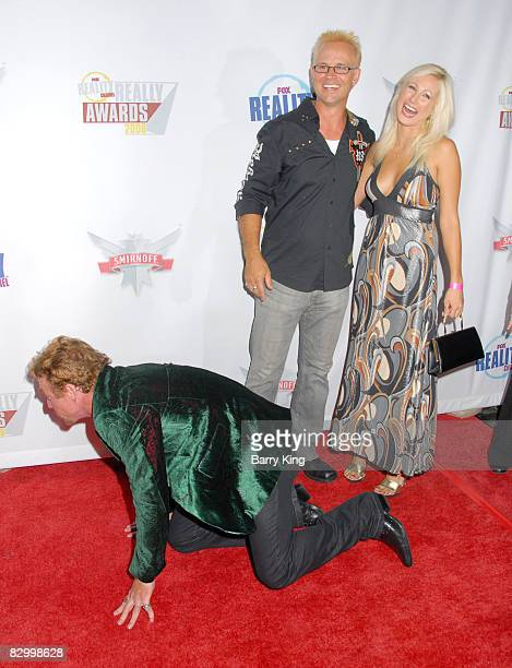 Actor Danny Bonaduce George Gray and guest arrive at the Fox Reality Channel's Really Awards held at Avalon Hollywood on September 24 2008 in...
