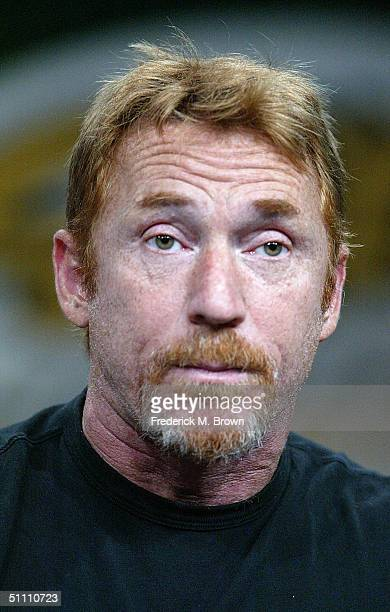 """Actor Danny Bonaduce of """"In Search of The Partridge Family"""" speaks with the press at the TCA Tour Cable at the Century Plaza Hotel on July 23, 2004..."""