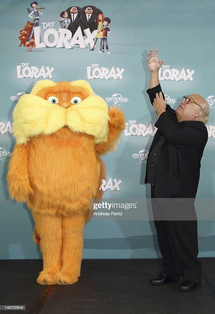 """Dr. Seuss' The Lorax"" - Germany Photocall : News Photo"