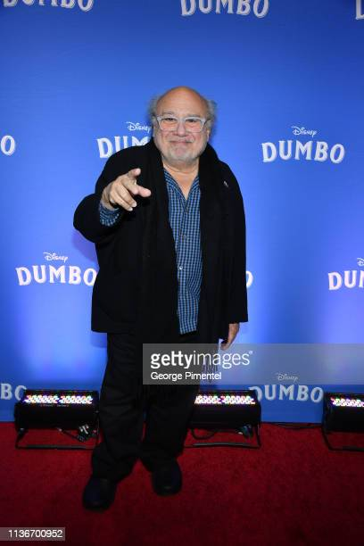 Actor Danny DeVito attends the 'Dumbo' Canadian Premiere held at Scotiabank Theatre on March 18, 2019 in Toronto, Canada.