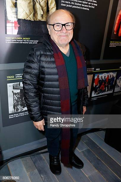 Actor Danny DeVito attends the Eddie Bauer Adventure House during the 2016 Sundance Film Festival at Village at The Lift on January 22 2016 in Park...