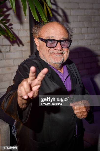 "Actor Danny DeVito attends the RBC Hosted ""The Song of Names"" Cocktail Party At RBC House Toronto Film Festival 2019 at RBC House on September 08,..."