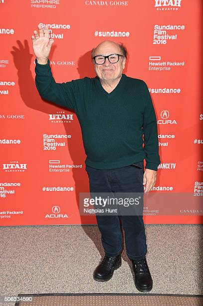 Actor Danny DeVito attends the 'WienerDog' Premiere at Eccles Center Theatre on January 22 2016 in Park City Utah