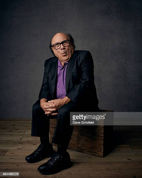 Actor Danny Devito is photographed for Emmy magazine on December 1 2014 in Los Angeles California
