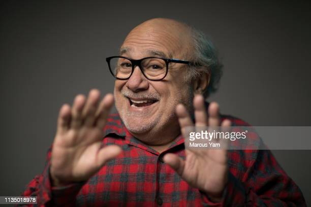 Actor Danny DeVito is photographed for Los Angeles Times on March 10, 2019 in Beverly Hills, California. PUBLISHED IMAGE. CREDIT MUST READ: Marcus...