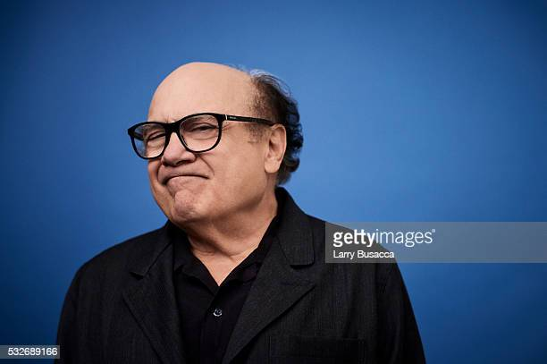 Actor Danny DeVito poses for a portrait at the Tribeca Film Festival on April 15 2016 in New York City