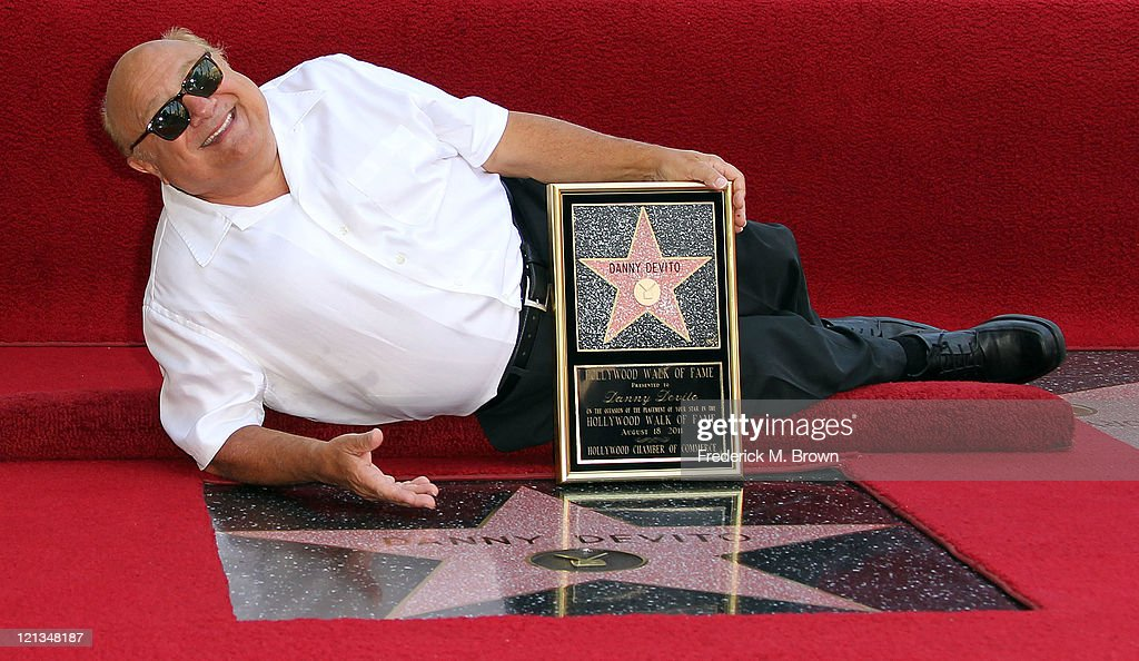 Danny DeVito Honored On The Hollywood Walk Of Fame