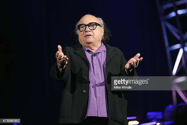 Actor Danny DeVito speaks onstage during the SeriousFun Children's Network 2015 Los Angeles Gala An Evening Of SeriousFun celebrating the legacy of...