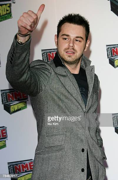 Actor Danny Dyer arrives at the Shockwaves NME Awards 2007 at the Hammersmith Palais on March 1 2007 in London England