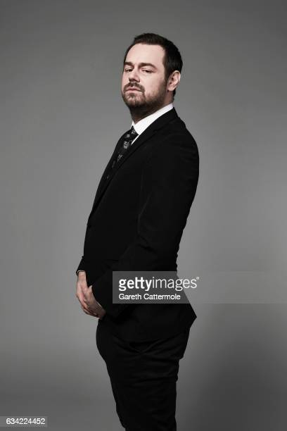 Actor Danny Dyer is photographed at the National Television Awards on January 25 2017 in London England