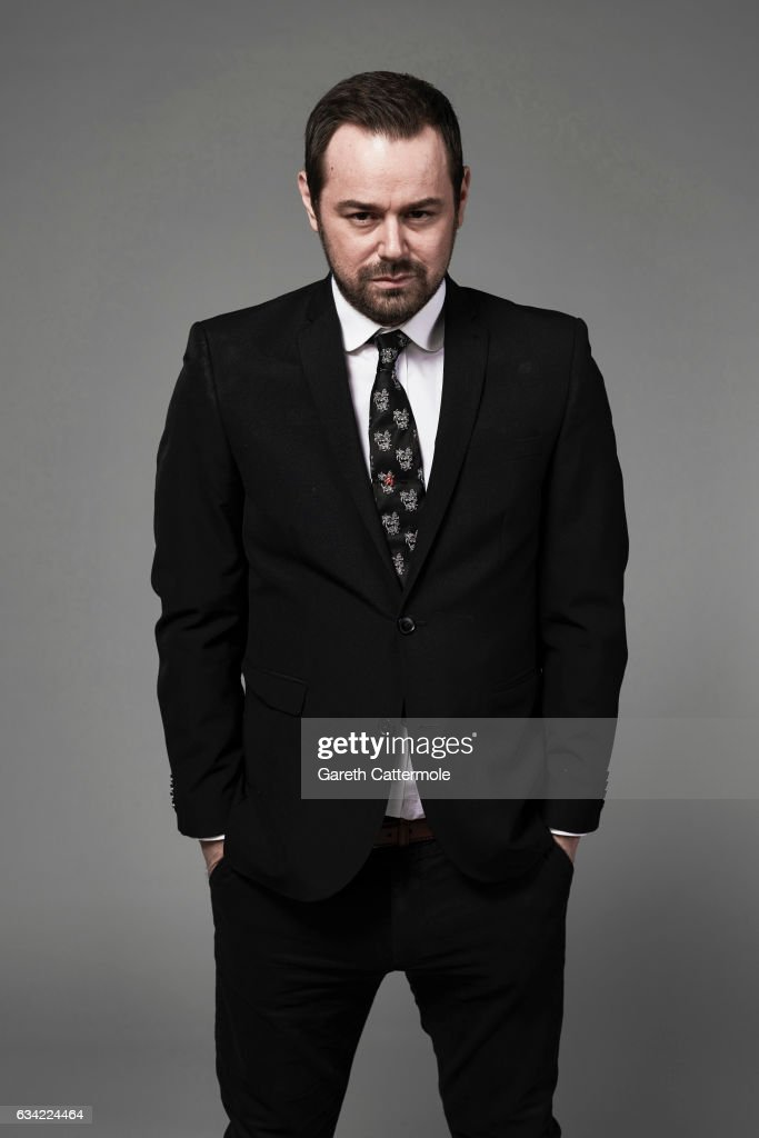 Actor Danny Dyer is photographed at the National Television Awards on January 25, 2017 in London, England.