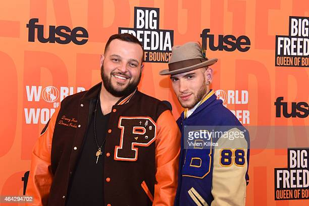 Actor Danny Franzese and Joseph Bradley Phillips attend the 'Twerk Of Art' Photography Collection from Big Freedia at World Of Wonder on February 23...
