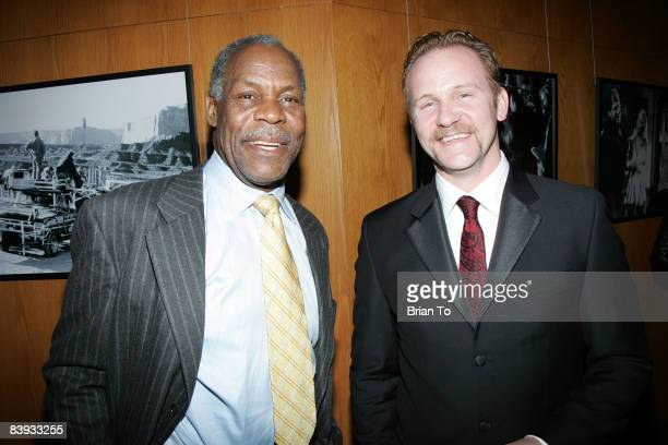 Actor Danny Glover and documentary filmmaker Morgan Spurlock attend the 24th Annual International Documentary Association Awards Ceremony at the...