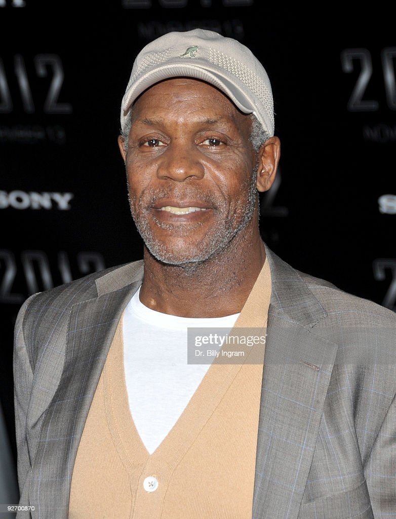 Actor Danny Glover arrives at the '2012' Premiere at Regal 14 at LA Live Downtown on November 3, 2009 in Los Angeles, California.