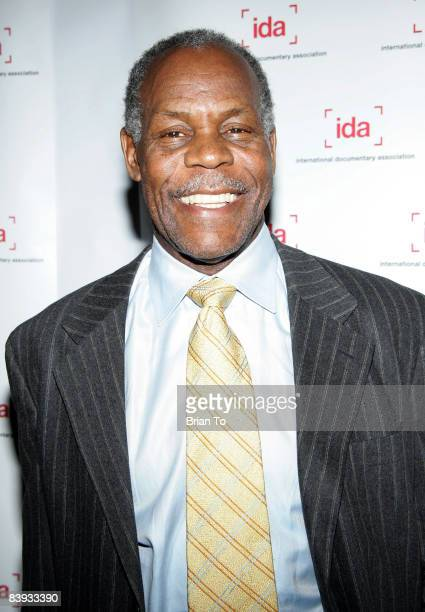 Actor Danny Glover arrives at the 24th Annual International Documentary Association Awards Ceremony at the Director's Guild of America on December 5...