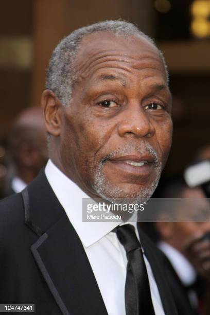 Actor Danny Glover arrives at the 6th edition of the AfroCaribbean Arts Awards at Theatre du Chatelet on September 12 2011 in Paris France