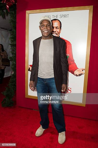 Actor Danny Glover arrives at the premiere of Universal's 'Almost Christmas' at Regency Village Theatre on November 3 2016 in Westwood California