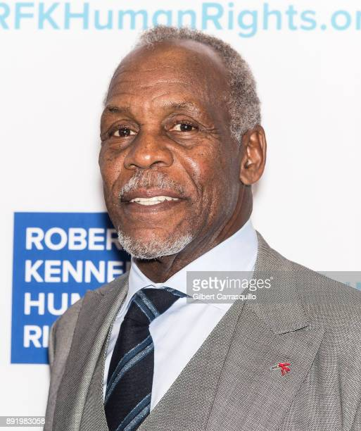 Actor Danny Glover attends Robert F Kennedy Human Rights Hosts Annual Ripple Of Hope Awards Dinner at New York Hilton on December 13 2017 in New York...