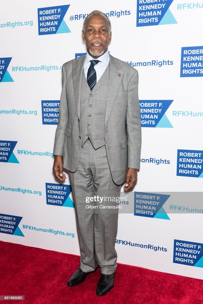 Actor Danny Glover attends Robert F. Kennedy Human Rights Hosts Annual Ripple Of Hope Awards Dinner at New York Hilton on December 13, 2017 in New York City.