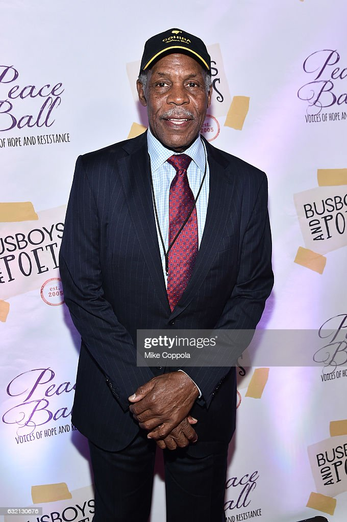 Actor Danny Glover attends the Busboys and Poets' Peace Ball: Voices of Hope and Resistance at National Museum Of African American History & Culture on January 19, 2017 in Washington, DC.
