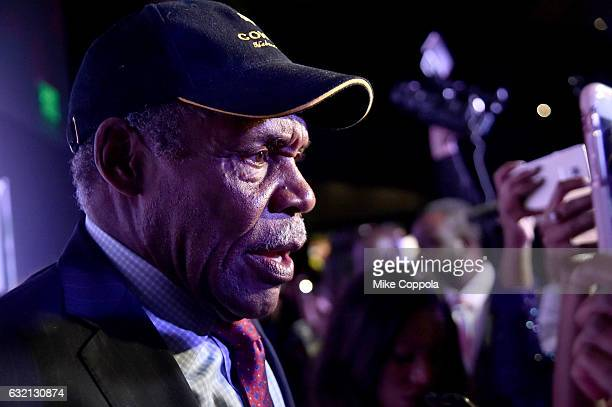 Actor Danny Glover attends the Busboys and Poets' Peace Ball Voices of Hope and Resistance at National Museum Of African American History Culture on...