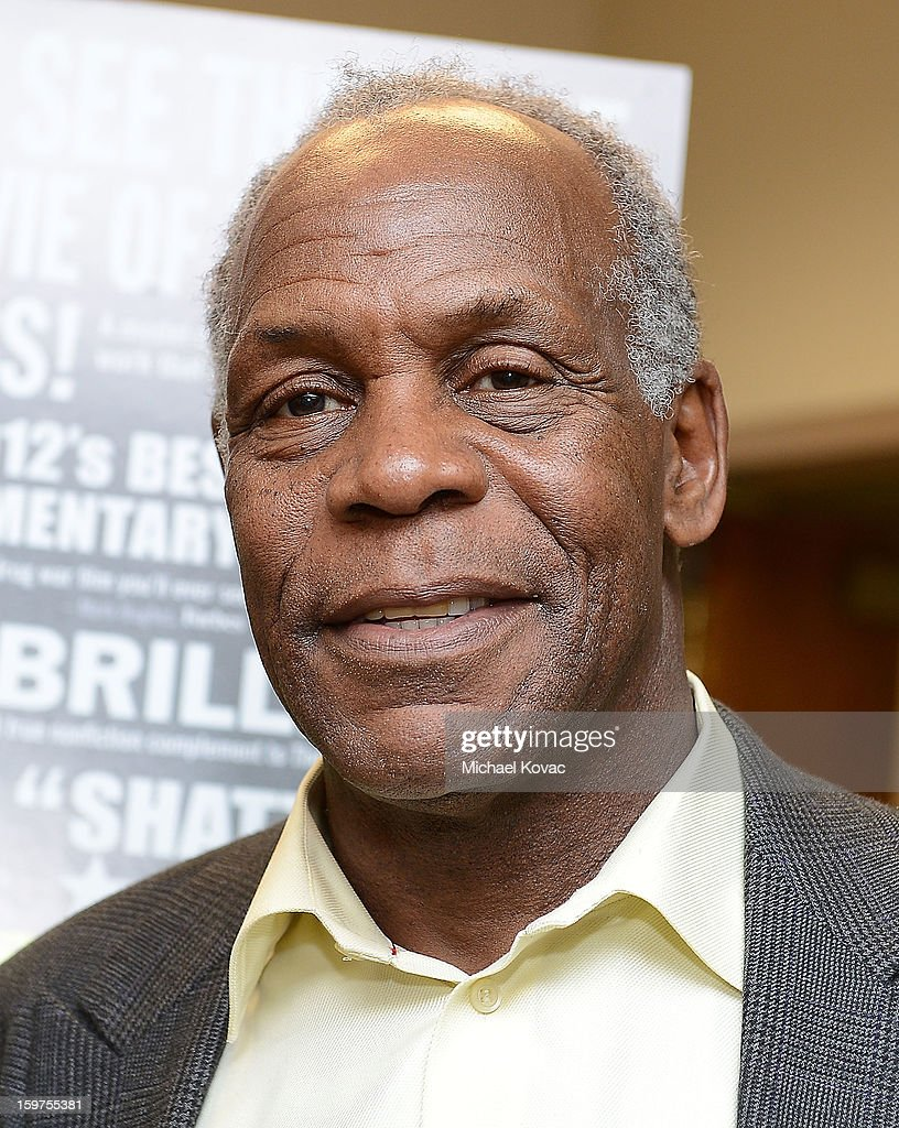 Actor Danny Glover attends 'The House I Live In' Washington DC screening at Shiloh Baptist Church on January 19, 2013 in Washington, DC.