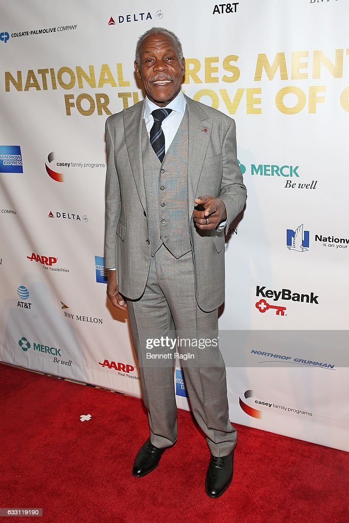 Actor Danny Glover attends the National CARES Mentoring Movement's 2nd Annual 'For the Love of Our Children' Gala at Cipriani 42nd Street on January 30, 2017 in New York City.