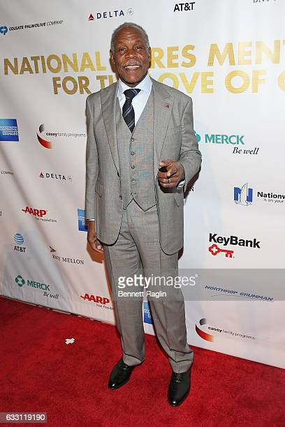 Actor Danny Glover attends the National CARES Mentoring Movement's 2nd Annual 'For the Love of Our Children' Gala at Cipriani 42nd Street on January...