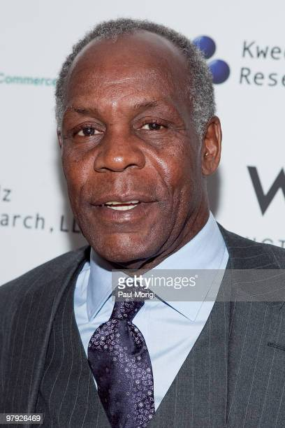 Actor Danny Glover attends To Haiti With Love at the W Hotel Washington DC on March 21 2010 in Washington DC