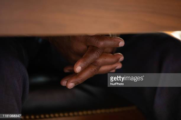 Actor Danny Glover listens to testimony about reparations for the descendants of slaves, during a hearing before the House Judiciary Subcommittee on...