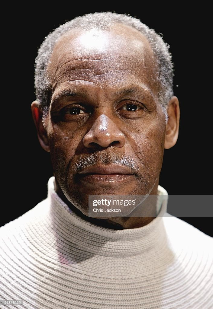 Actor Danny Glover poses during a photocall for The Exonerated, April 11, 2006 at Riverside Studios , London, England. The Exonerated are a series of harrowing true stories based on the real life drama of people on death row.