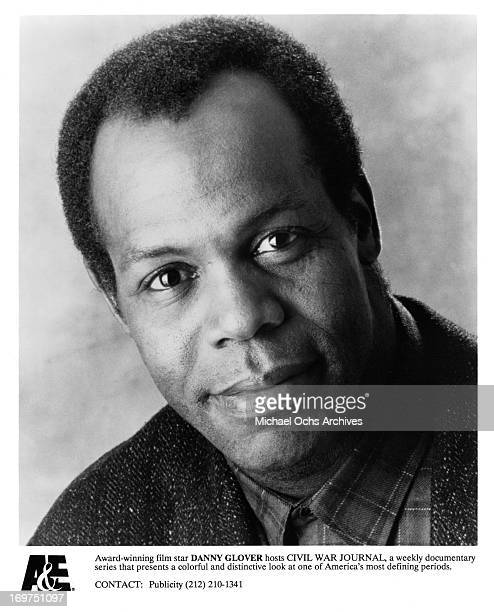 Actor Danny Glover poses for a portrait as host of Civil War Journal in circa 1993