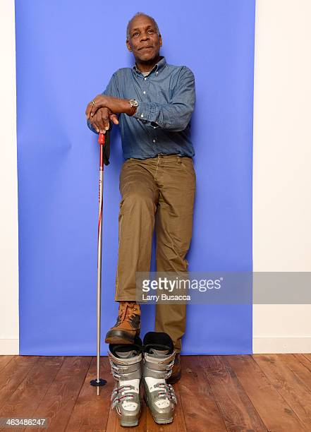 Actor Danny Glover poses for a portrait during the 2014 Sundance Film Festival at the Getty Images Portrait Studio at the Village At The Lift...