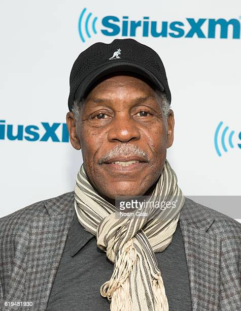 Actor Danny Glover visits the SiriusXM Studio on October 31 2016 in New York City