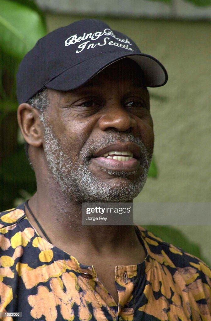 Actor Danny Glover Visits Cuba : News Photo