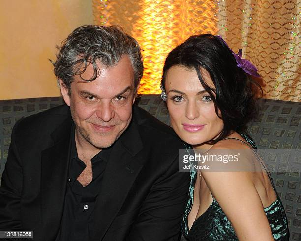 Actor Danny Huston an guest attend the official HBO SAG Awards after party held at at Spago on January 29 2011 in Beverly Hills California