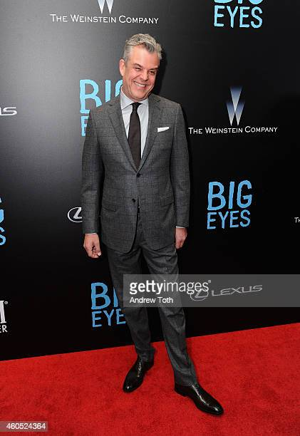 Actor Danny Huston attends Big Eyes New York premiere at Museum of Modern Art on December 15 2014 in New York City