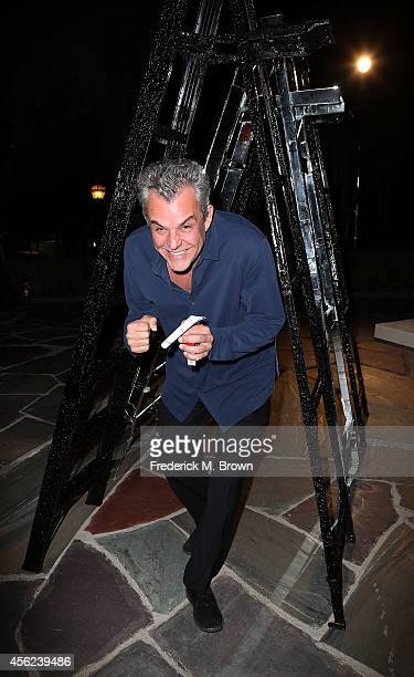 Actor Danny Huston attends LAXART's 1st Biannual Gala at Greystone Mansion on September 27 2014 in Beverly Hills California