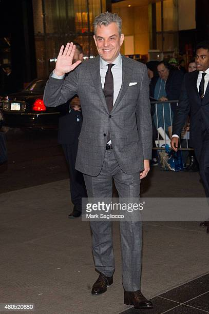 Actor Danny Huston attends the 'Big Eyes' New York Premiere at the Museum of Modern Art on December 15 2014 in New York City