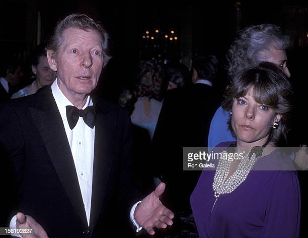 Actor Danny Kaye and daughter Dena Kaye attend Hospital for Special Surguery Benefit Gala on April 24 1978 at the Waldorf Hotel in New York City