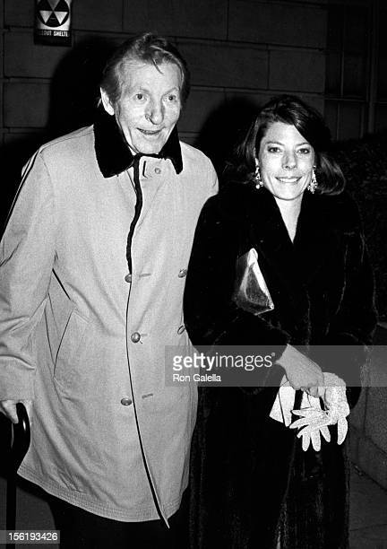 Actor Danny Kaye and daughter Dena Kaye attend Kennedy Center Honors Awards Gala on December 2 1984 at the Kennedy Center in Washington DC