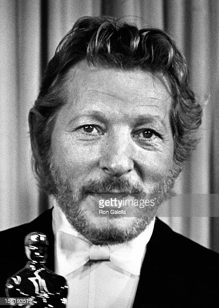 Actor Danny Kaye attends 40th Annual Academy Awards on April 10 1968 at the Santa Monica Civic Auditorium in Santa Monica California