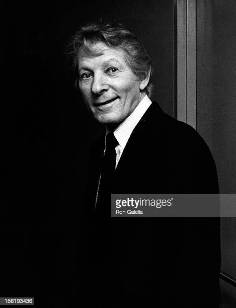 Actor Danny Kaye attends Because We Care Benefit for Cambodia on January 29 1980 at the Dorothy Chandler Pavilion in Los Angeles California