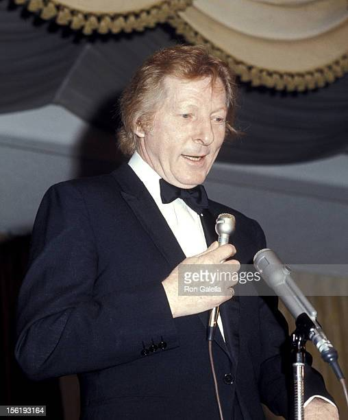 Actor Danny Kaye attends Cue Awards Gala on January 7 1971 at the Pierre Hotel in New York City